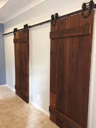 Barn Door On Bathroom by Georgia Tech Inspired Barn Door U2014 Benjamin Andrew Construction Co