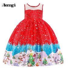 2018 Christmas Dress for Girl Santa Costume  Emerta
