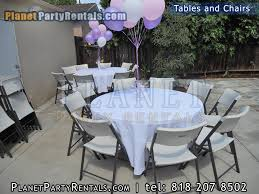 table and chair rental prices tables chairs rectangular tables party rentals encino