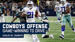 dak and zeke lead cowboys on winning drive in ot eagles vs