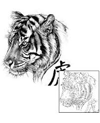 tiger tattoos and designs symbolism and meaning