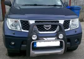 nissan murano in uk nissan navara d40 nudge bar with spot lights built in 189 from
