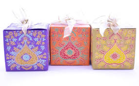 sweet boxes for indian weddings wedding favor gift box with ribbon pen favor