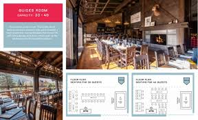 park distillery restaurant bar u2014 floor plans