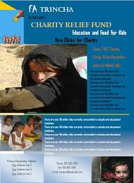 ngo brochure templates charity flyer graphics and templates