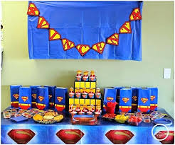 outstanding superman birthday decoration best superman party