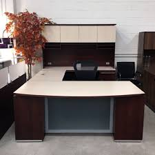 maverick used canyon executive desk set discount office furniture