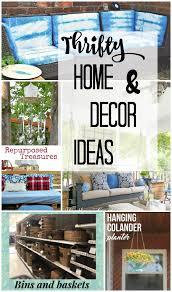 Thrifty Home And Decor Ideas Cmon Get Crafty - Thrifty home decor