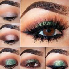 green smoky eyes smokey eyes makeup tips in urdu english video