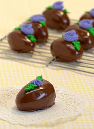 chocolate covered eggs chocolate peanut butter easter eggs 09 jpg