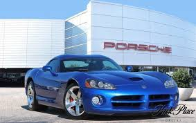 dodge viper for sale dallas 2006 viper gts blue dodge viper 8 3l for sale park place