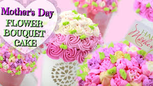 mother u0027s day flower bouquet cake youtube