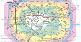 underground map zones travel zones map 9