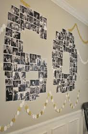 sixty birthday ideas number photo collage great for birthday or anniversary