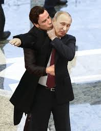 Meme John Travolta - john travolta s creepy kiss at the oscars has naturally spawned a
