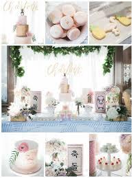 Hawaiian Style Bedroom Ideas First Birthday Party Hawaiian Theme Pastel Colors White Pink