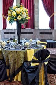 and yellow wedding decor love this but with instead