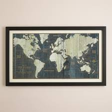 World Map Wall Decor World Map With Capitals Pointcard Me