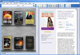 Bookshelf Website All My Books Virtual Bookshelf View Mode Screenshot