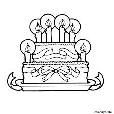 Coloriage anniversaire à imprimer