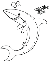 shark coloring pages print free pictures sheets free