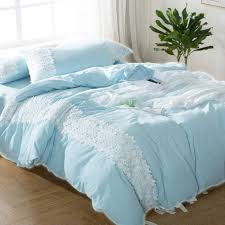 Blue Bed Set Light Blue Bedding Promotion Shop For Promotional Light Blue