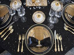 Gold Table Centerpieces by Black And Gold Centerpieces For Tables Table Designs