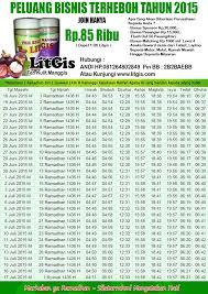 Teh Litgis bisnis mlm terpercaya tahun 2015 jadwal imsakiyah buat anggota