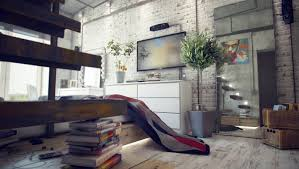 Loft Home Decor | modern interior design of the loft house decor with some furniture