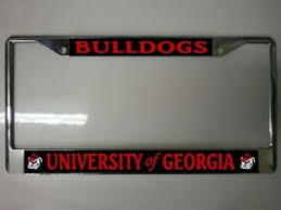 uga alumni car tag alumni license plate frame free girlbackup
