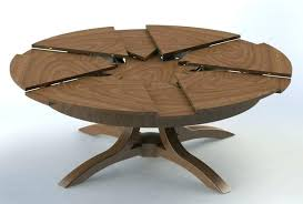 mid century modern round dining table expandable round dining table mid century modern danish extendable