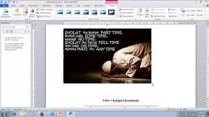 cara membuat daftar gambar word cara membuat daftar gambar tabel dan grafik secara otomatis