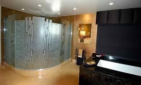 nokes frmls gls shower doors etched glass modern decor