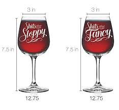 novelty wine glasses gifts vino depot novelty wine glass set of 2 couples gifts
