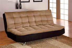 caramel microfiber futon sofa bed s3net sectional sofas sale