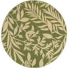 tommy bahama seaside 7 10 ft round indoor outdoor rug by oriental
