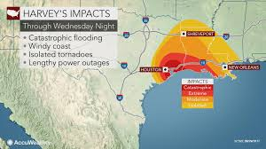 Weather Map Texas Catastrophic Levee Failure May Occur In Texas Amid Harvey U0027s