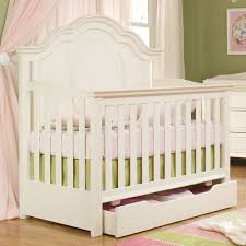 Convertible Baby Cribs With Drawers Enchant Convertible Crib And Nursery Necessities In Interior