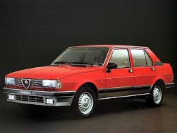 automotive database alfa romeo giulietta 1977