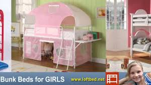 Bunk Bed For Girl by Girls Bunk Beds Loft Beds For Kids Of Any Age Youtube