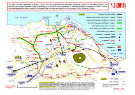 Edinburgh Map Map 1 3 2016 Edinburgh City This Is The Edinburgh Light