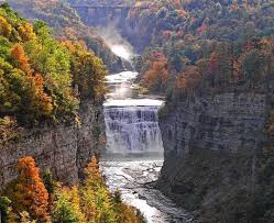 Letchworth State Park Map by Best Places To View Fall Foliage In The Finger Lakes Region
