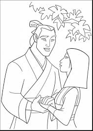 great disney princess mulan coloring pages with mulan coloring