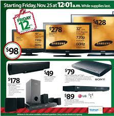 flat screen tv black friday walmart black friday 2011 ad u0026 deals