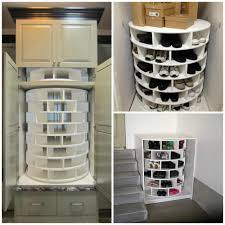 how to install lazy susan cabinet lazy susan cabinet storage for shoes diy fixated
