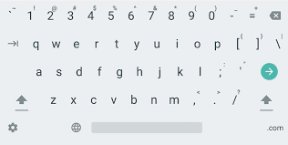 enable the hidden number row in google keyboard on your android