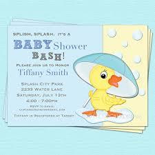 duck baby shower invitations boy baby shower invitation duck baby shower
