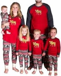 deals on family elk matching pajamas for