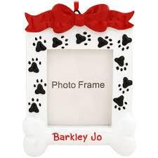 personalized frame ornament penned ornaments
