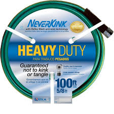 The Home Technology Store Neverkink 5 8 In Dia X 100 Ft Heavy Duty Water Hose 8605 100